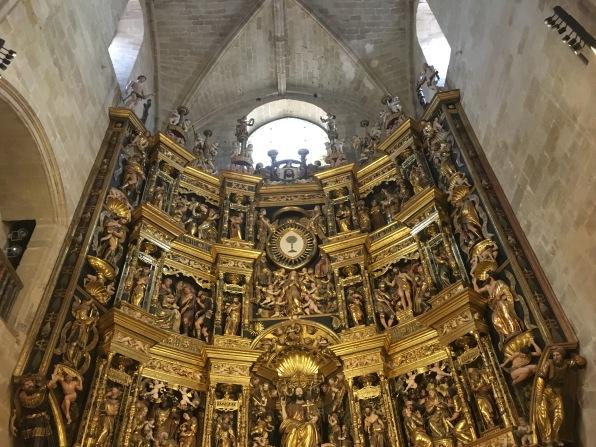 altarpiece of Cathedral of Santo Domingo