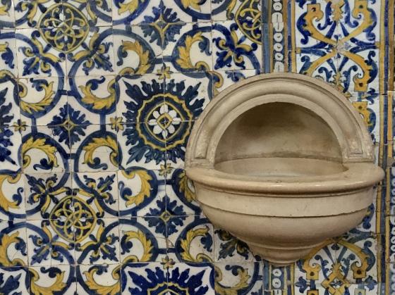 tiles in Catedral de São Domingos