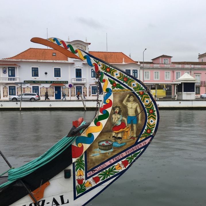 boats in Aveiro