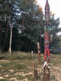 Totem rest area