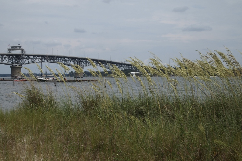 York River and George P. Coleman Memorial Bridge