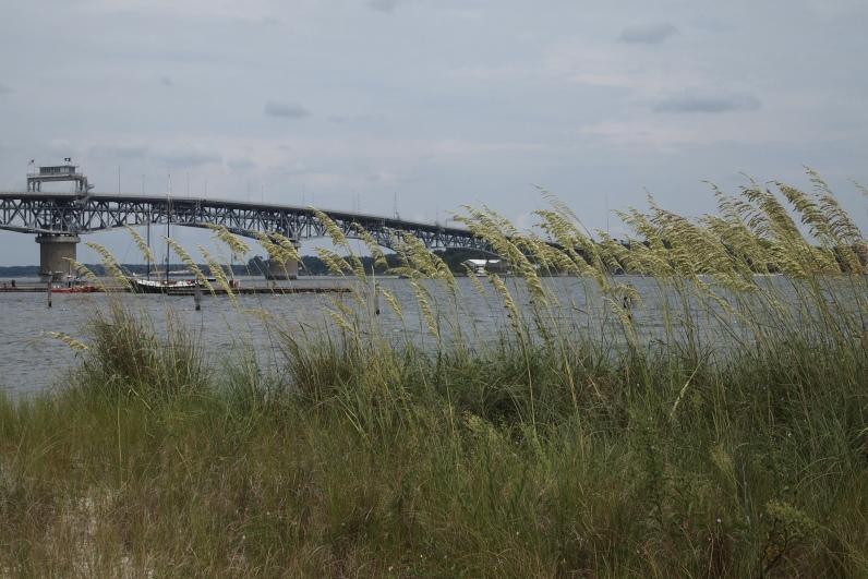 York River and George P. Coleman Memorial Bridge