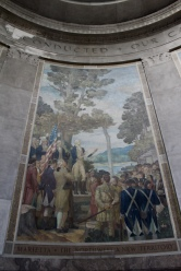 murals in the George Rogers Clark Memorial