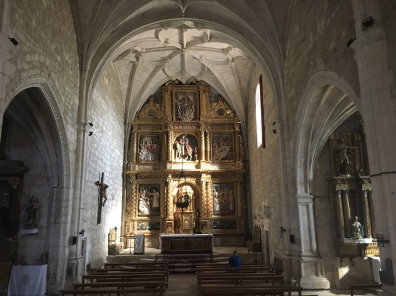 interior of Parish church of San Martin