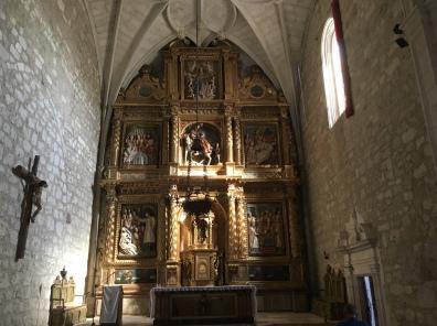 interior of Parish church of San Martin