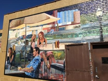 Oakley street mural