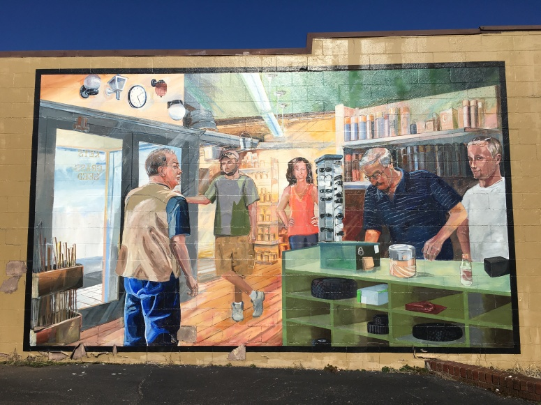 Morning, Noon and Night ArtWorks mural in Oakley