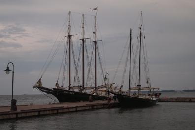 York River historic boats