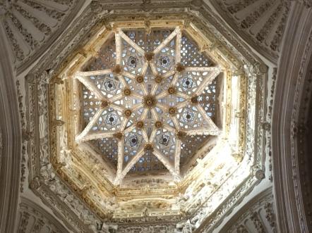 ceiling in Catedral de Santa María