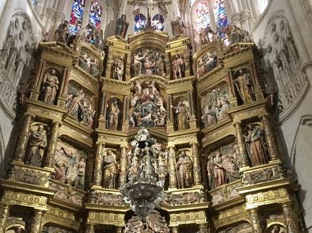 altarpiece in Catedral de Santa María