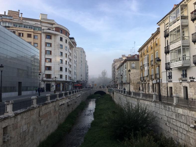 early morning in Burgos