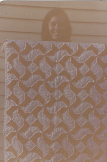 me with a quilt creation