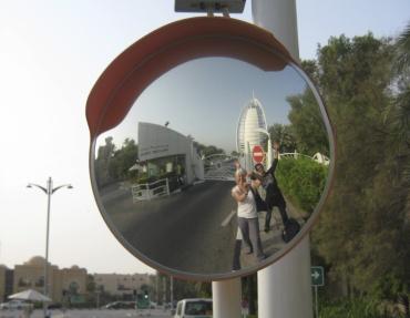 Tomomi, me and Burj Al Arab