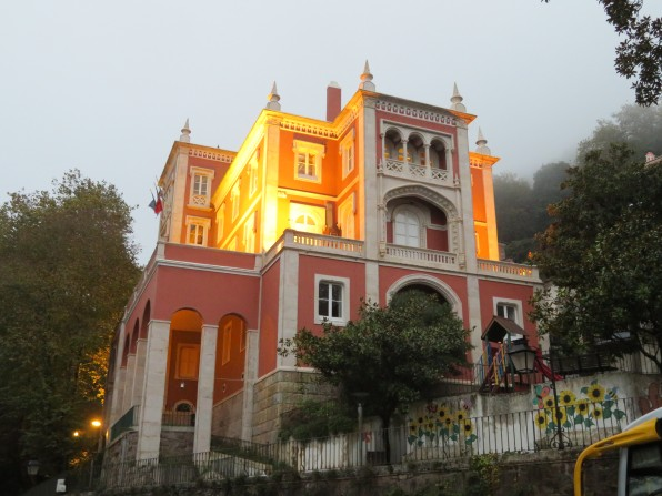 a rare glow in Sintra