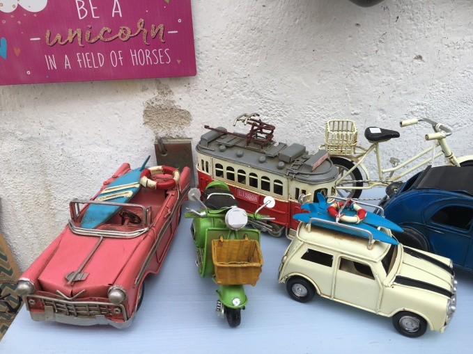 toy vehicles in Óbidos