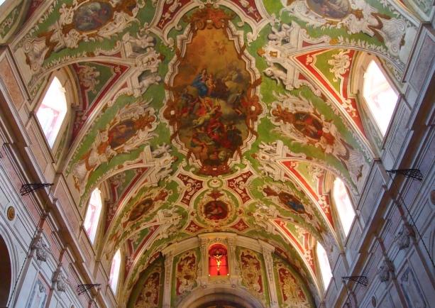 Basilica dos Martires in Lisbon 2013