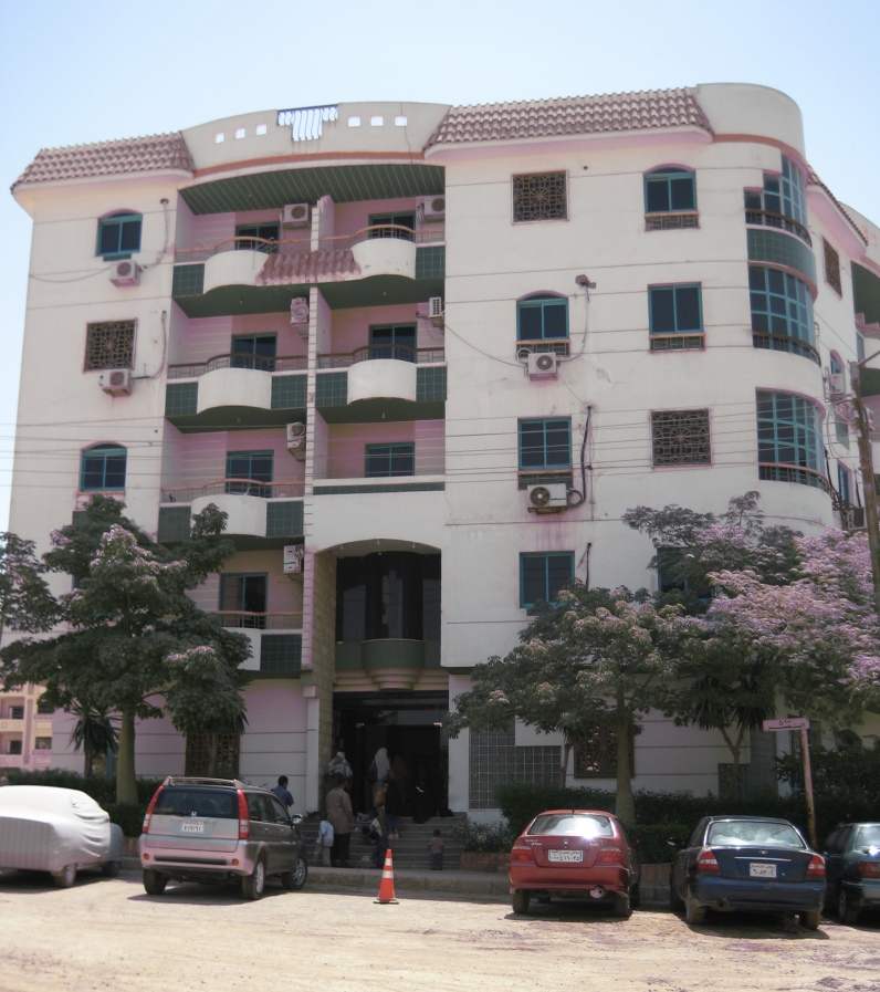 our apartment building in Muqattum