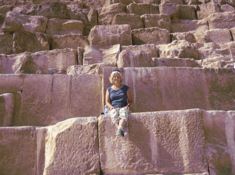 me on the pyramid