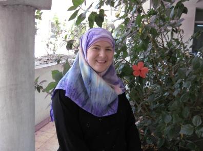 Lisa at Al-Azhar