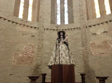 inside Iglesia Señora la Peregrina