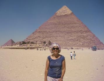 me at Pyramids of Giza