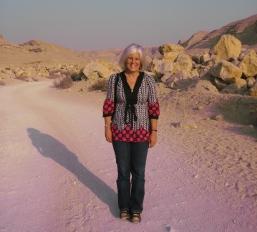 me at Wadi Degla