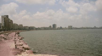 Corniche in Alexandria