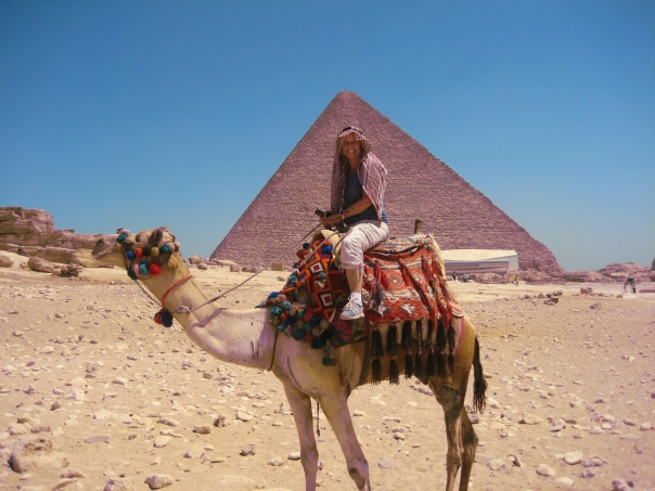 me on the camel