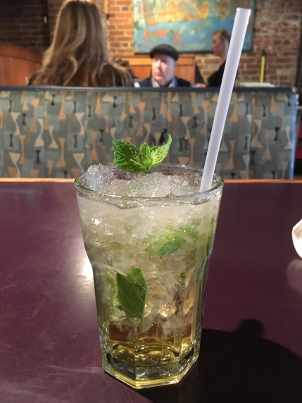 mint julep at Ditto's in Bardstown