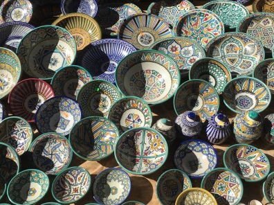 porcelain at the crafts market