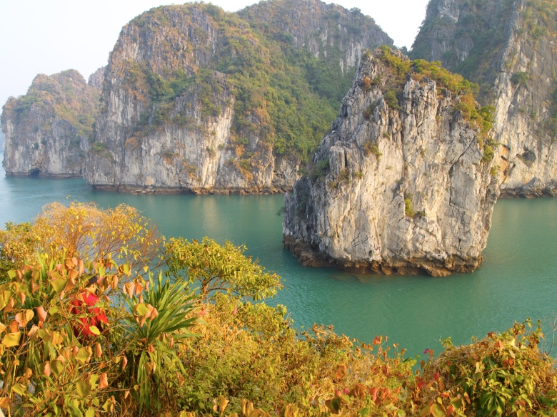 island in Halong Bay
