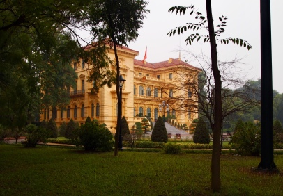 Presidential Palace at Ho Chi Minh Complex