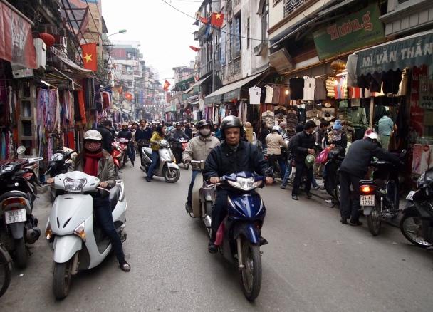 chaotic Hanoi