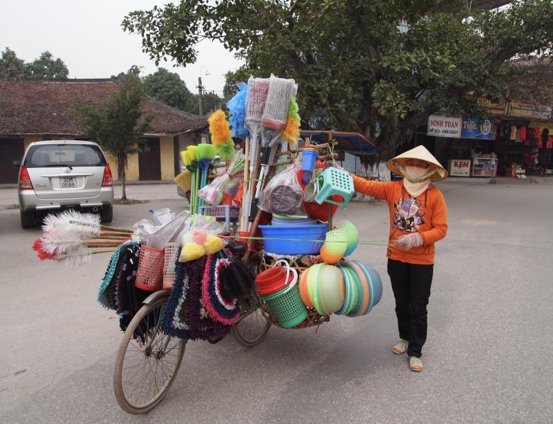 vendor at Tam Coc