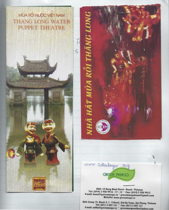 brochures from Vietnam