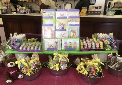 Easter display at Graeter's