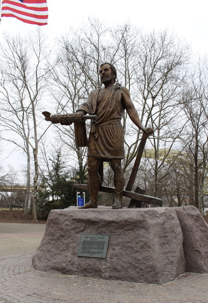 Cincinnatus sculpture