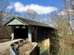 Colville Covered Bridge in Kentucky