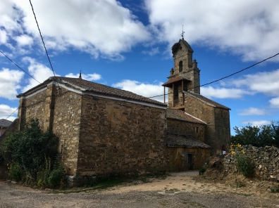 parish church in El Ganso