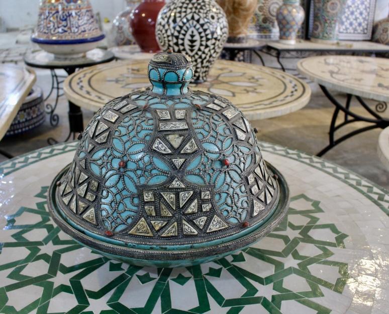 ceramics in Fez