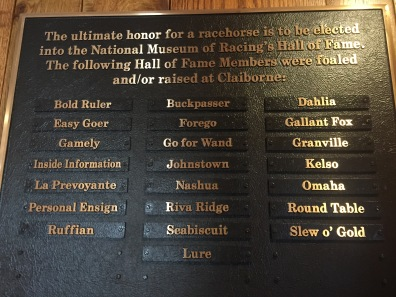 Hall of Fame for horses