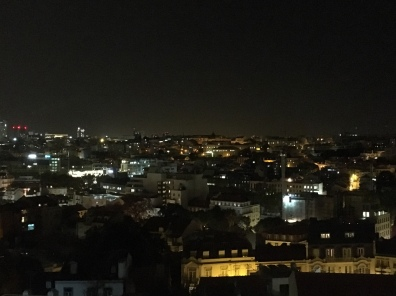 nighttime view of Lisbon from LostIn