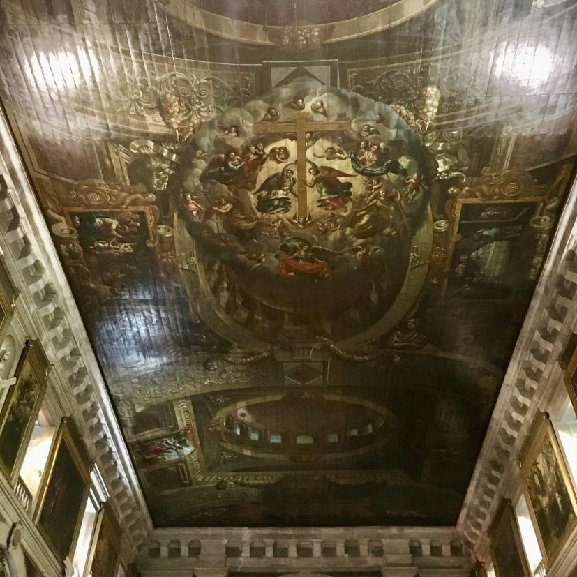 ceiling in Igreja & Museu São Roque