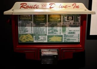 Route 66 Drive-In menu