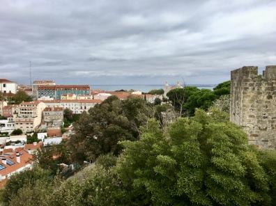 view from Castelo de São Jorge