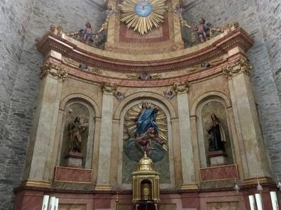 inside Iglesia Colegiata