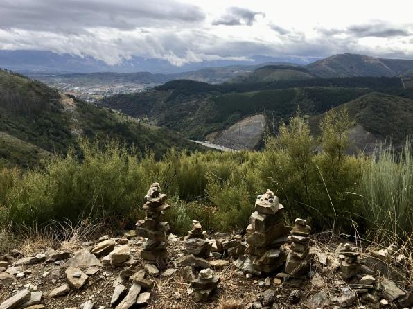 Scenic route Camino de Pradela to Vista