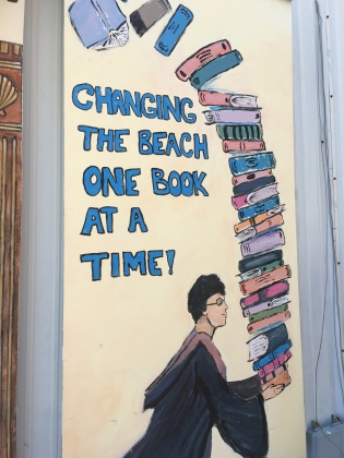 Changing the beach one book at a time!
