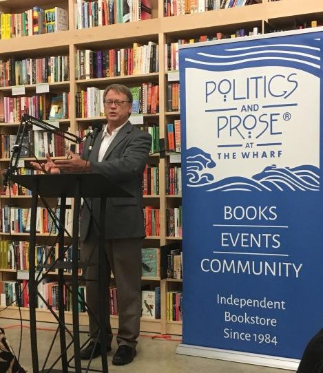 Bill Geroux's book talk at Politics and Prose
