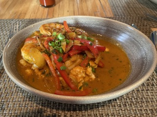 Shrimp & Geechie Boy Grits at Husk
